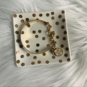 NEW Gold bracelet with charm
